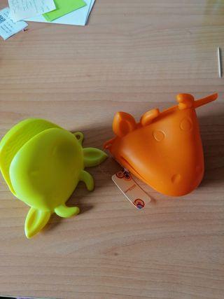 Manoplas/protectores/guantes de silicona para horn