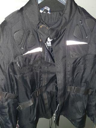 chaqueta cordura todo clima-moto