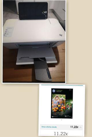 Impresora HP DesKJet 1510+ Regalo escan fotocopia.