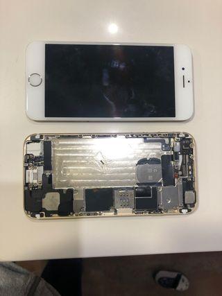 2 IPhone 6 blancos para piezas