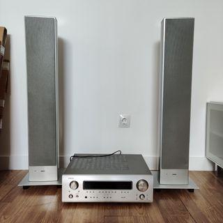 Altavoz LOWE + Amplificador Denon