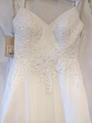 Vestido de Novia talla 34/36 Blanco