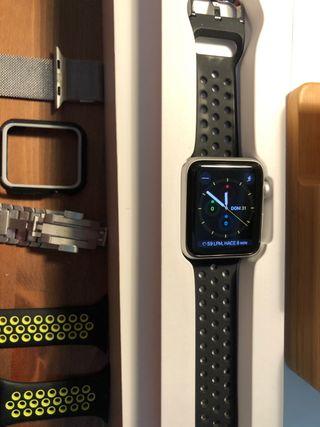 Apple Watch Serie 3 GPS 42 mm aluminio
