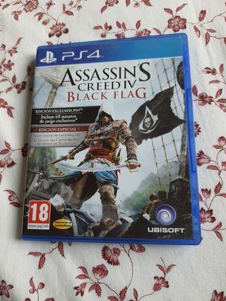 Assasins Creed Black Flag PS4