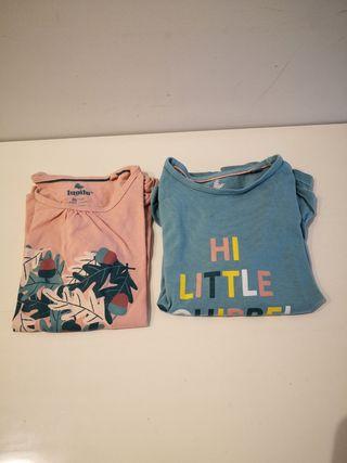 Camisetas niña. 2-4 años