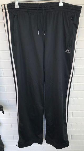 ADIDAS pantalón chandal negro talla XL
