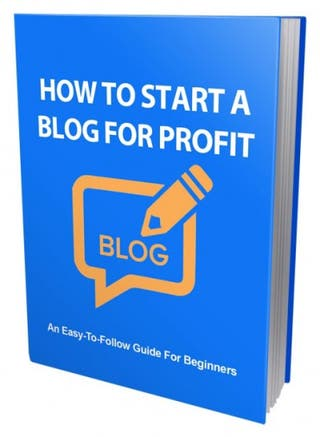 How to start your own blog ebook