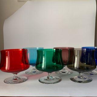 Copas cristal de colores