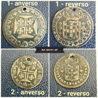 Monedas antiguas de Portugal XVIII