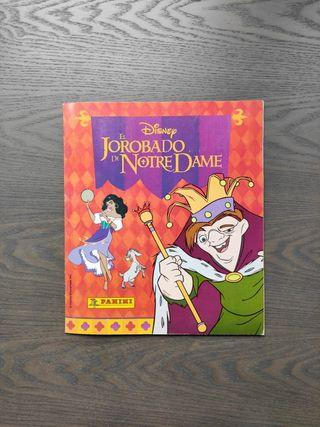 Album de cromos El jorobado de Notre Dame