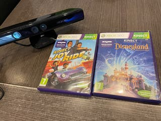Xbox 360 Kinect + Disneyland adventure