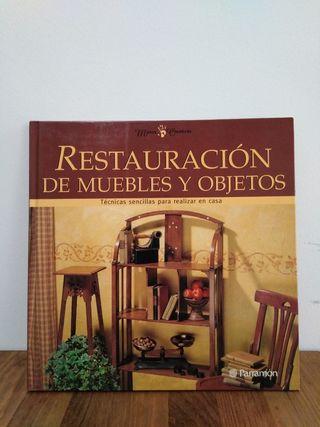 Libro Restauración de muebles y objetos