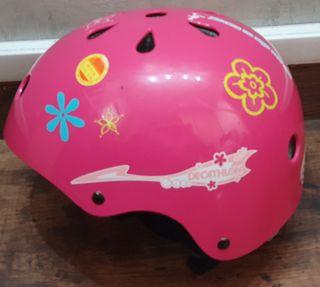 Casco protección bicicleta patinete patines