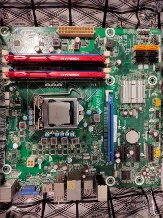 Placa Base + i7 2600 3.4ghz + 16gb RAM DDR3