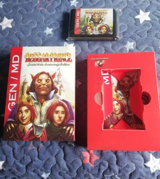 Mega Drive Beggar Prince Completo Genesis