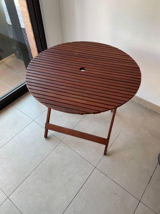 Mesa terraza madera