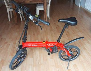 Bicicleta eléctrica plegable Sk8 Urban Beetle