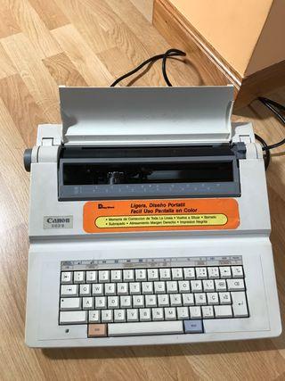Máquina de escribir eléctrica canon es3-II
