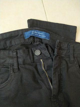 Pantalón hombre negro
