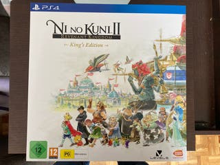 Ni No Kuni II KING'S EDITION PRECINTADO PS4