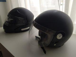 Casco moto Takai y casco integral Ride
