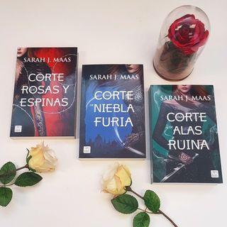 Trilogía libros fantasía.