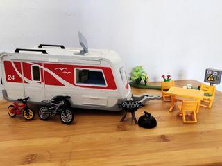 Caravana camping Playmobil