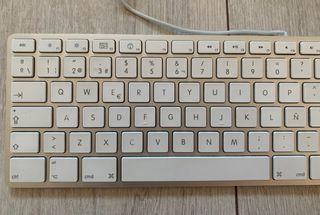 Teclado numérico Apple A1243. QWERTY. Español