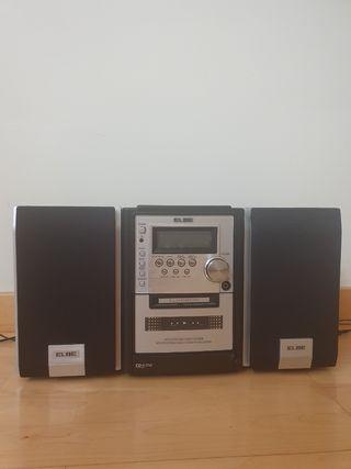 Reproductor MP3/CD, Radio estéreo y cassete