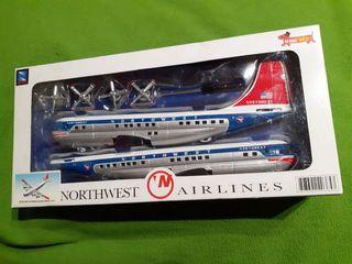 Maqueta avión Northwest Airlines