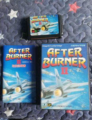 Mega Drive After Burner II Completo JAP