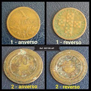 Monedas antiguas Republica Portuguesa