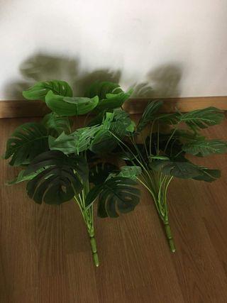 2 plantas artificiales
