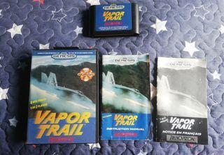 Mega Drive Vapor Trail RARO Completo Genesis
