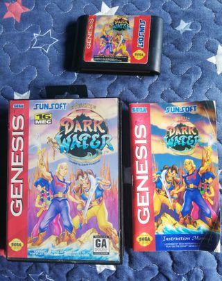 Mega Drive Pirates Dark Water Completo Genesis