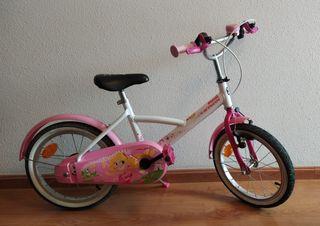 Bicicleta infantil 16 pulgadas.