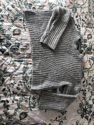 Jersey de lana gris