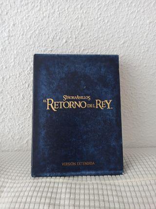 DVD colección SEÑOR DE LOS ANILLOS