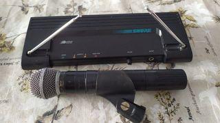 Micrófono inalámbrico Shure