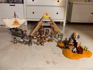 Playmobil kit completo Egipcios