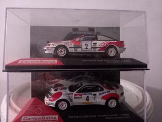 Lote Toyota Celica Carlos Sainz 1/43 + 128