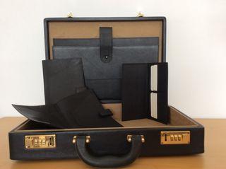 Pack de maletín, portadocumentos y tarjeteros