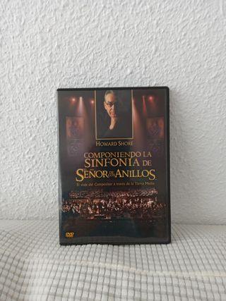 DVD SINFONÍA DEL SEÑOR DE ANILLOS