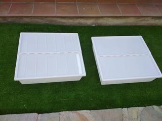 Cajas para debajo de la cama