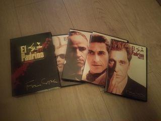 DVD. Trilogía El Padrino
