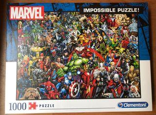 Impossible puzzle! Marvel - 1000 piezas