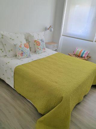 Colcha cama 1.50cm verde