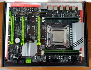 Combo placa base, CPU y memoria