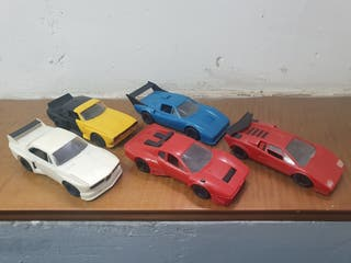 lote de coches maqueta modelismo slot