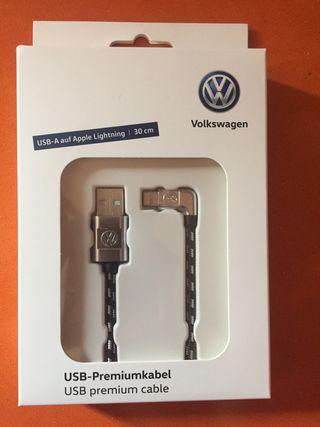 Cable usb volkswagen para iphone a estrenar